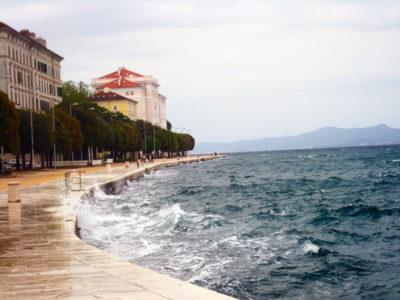 Gischt des Meeres