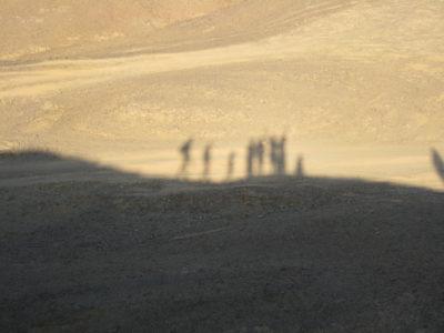 Wüste und Schatten